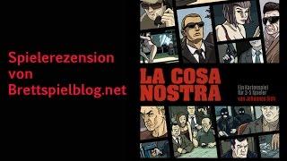La Cosa Nostra von Johannes Sich im Test - Hard Boiled Games -- Brettspielblog.net