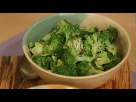 Video Healthy Cooking: How to Cook Broccoli