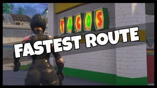 "Fortnite: Easy Route for ""Visit Taco Shops"" Challenge"