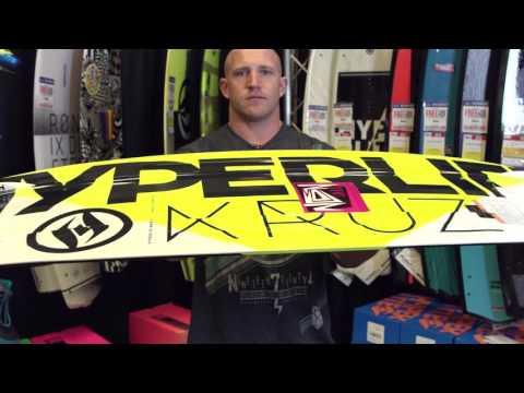 Rusty Malinoski – 2016 Hyperlite Kruz Nova & Kruz Bio Wakeboard Review