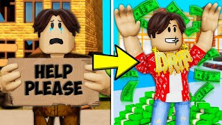 Poor To Rich The Orphan: A Roblox Movie