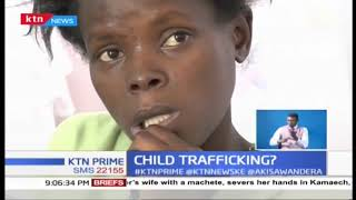 Woman arrested over bizarre child trafficking deal