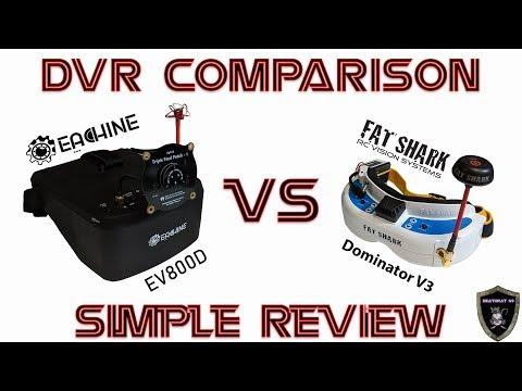 fpv-goggle-dvr-comparison--eachine-ev800d-vs-fat-shark-dominator-v3--simple-review