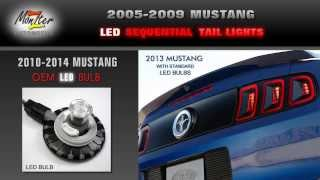 2005 - 2009 Mustang Sequential LED Tail Light Kit