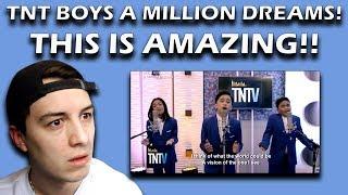 TNT Versions: TNT Boys - A Million Dreams REACTION!