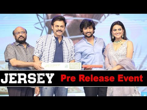 Jersey Movie Pre Release Event Highlights