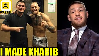 Conor McGregor reacts to Khabib's OFFICIAL retirement from the sport of MMA, Brunson vs Holland W-in