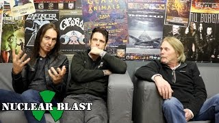 BLACK STAR RIDERS - Damon Johnson On Co-Writing (OFFICIAL INTERVIEW)