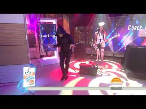 Never forget Cory Feldman's performance on The Today Show