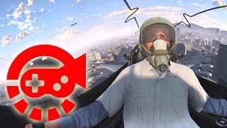 360° Video - Fighter Test Drive by Franklin, GTAV VR
