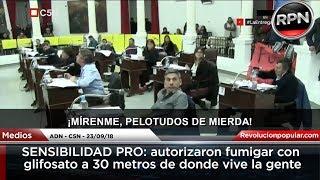 SENSIBILIDAD PRO: autorizaron fumigar con glifosato a 30 metros de donde vive la gente