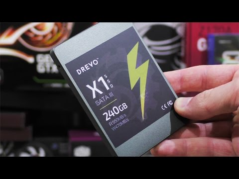Drevo X1 SSD 240GB Review - Cheap, Good, Fast SSD!