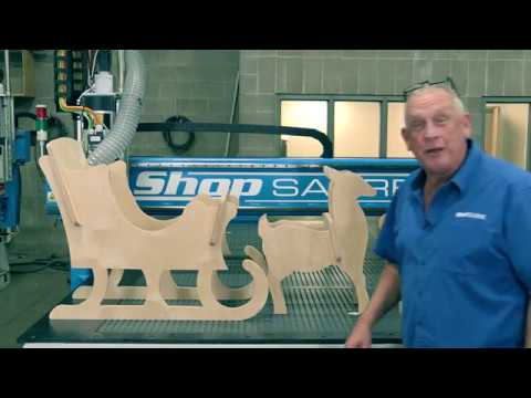 ShopSabre CNC – IS Series Christmas Displayvideo thumb