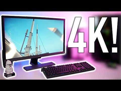 Gaming On The BenQ EL2870U 4K FreeSync Monitor!