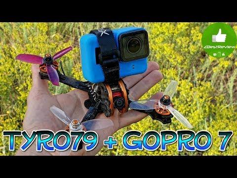 ✔ Моды для Eachine Tyro79. GoPro7 + Gemfan 3028 + Foxeer Predator V2!