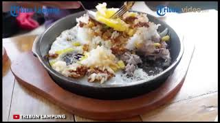 Nasi Hotplate Rasa Rendang Super Lezat