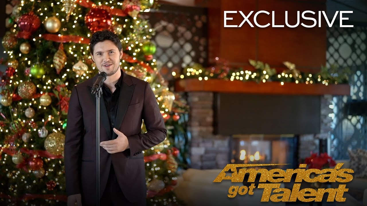 O Holy Night, A Powerful Cover By Daniel Emmet  - America's Got Talent 2018 thumbnail