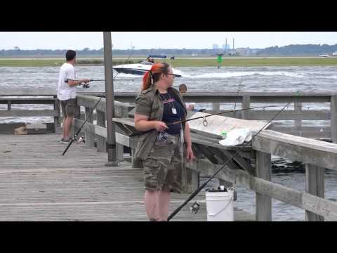 Surf Fishing with Slap Jackson July 22, 2014