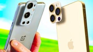 OnePlus 9 Pro vs Apple iPhone 12 Pro