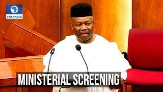 Senate Screens Godswill Akpabio