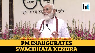 Imagine if Covid struck before 2014: PM Modi inaugurates Swachhata museum - Download this Video in MP3, M4A, WEBM, MP4, 3GP