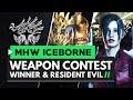 Monster Hunter World Iceborne | Weapon Contest Winner & Resident Evil Collaboration!