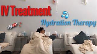 I got an IV Treatment!