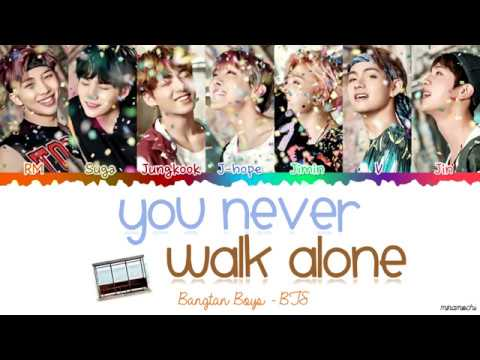 BTS (방탄소년단) - 'A Supplementary Story: You Never Walk Alone' Lyrics [Color Coded Han_Rom_Eng]