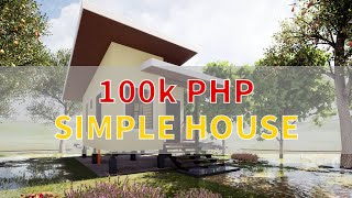 How to build a simple house with a budget of 100k php? Watch step by step process in 5 minutes.