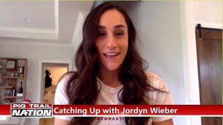 Jordyn Wieber Talks With Alyssa Orange About Her 1st Season At Arkansas
