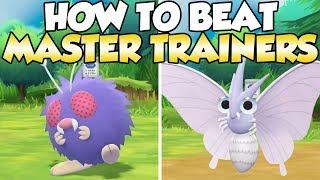 Venonat  - (Pokémon) - How To Beat Venonat & Venomoth Master Trainers Guide! | Pokemon Let's Go