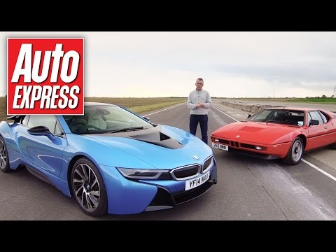 BMW i8 vs BMW M1 track battle