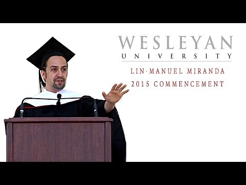 Lin-Manuel Miranda's Commencement Address