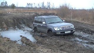 Lexus LX 470, Land Cruiser 100, Niva 3D и др. Off-Road, грязь, снег...