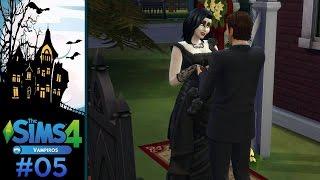 The Sims 4 - Desafio da Viúva Negra Vampira #5 - O Casamento de Danesca e Xavier
