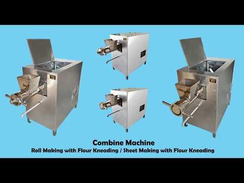 Flour Kneading With Sheet Making Machine