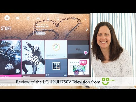 Review of the LG 49UH750V 4K Ultra HD TV from AO.com