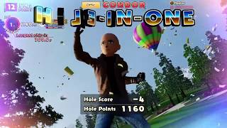 JOT381 EVERYBODY'S GOLF PS4 GAMEPLAY CONDOR HOLE-IN-ONE SHOT!