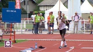 Aix-les-Bains 2018 : Perche M (Alioune Sene avec 5.70 m)