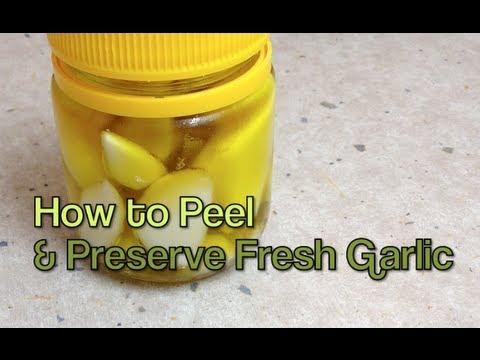 , title : 'How to Peel & Preserve Fresh Garlic cheekyricho