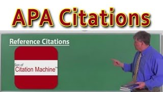 APA Citations & MLA Citations in an Instant: Son of Citation Machine