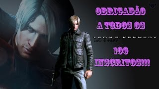 RE4 Mods Skins do Leon para o modo história no especial de 100 inscritos.