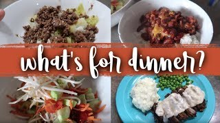 What's for Dinner? | Budget Friendly Large Family Meals | September 2019