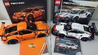Technic Porsche 911 RSR Build & Review