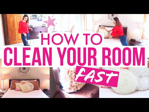 HOW TO CLEAN YOUR ROOM FAST! (& Keep It That Way!!!)/Cleaning Motivation