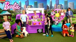 Barbie Family Fundraiser Carnival Fun - Dreamhouse Adventure Dolls