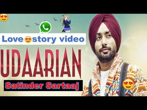 Udaarian whatsapp status video Satinder Sartaaj | Jatinder Shah - New Punjabi Songs 2018