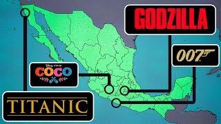 Las 10 PELÍCULAS FAMOSAS que fueron GRABADAS EN MÉXICO