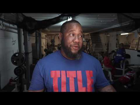 Grandy Twins using TITLE Boxing Gear