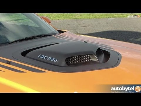 What is the SHAKER Hood Scoop on the Dodge Challenger Muscle Car? — Auto Extras